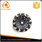 コンクリートのための125mm Tセグメントダイヤモンドのコップの車輪