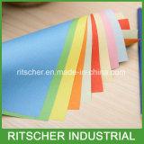Tarjeta colorida del color de la tarjeta de Bristol de la cartulina del papel compensado de la copia