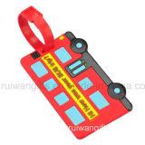 Etiqueta de bagagem de PVC promocional (LT005)