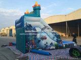Corrediça de água inflável gigante da venda 2016 quente barata para miúdos e adulto