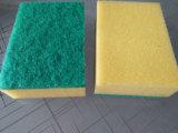 Éponge de nettoyage de cuisine multicolore, gommage d'éponge, éponge de cuisine