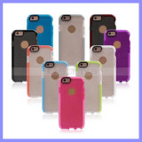 iPhone를 위한 두 배 Color TPU Soft D30 Ultra Thin Impact Mesh Tech 21 Cases Protective Case 5/6/6 Plus