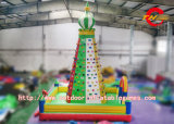 0,55 mm Epaisseur PVC bâche Inflatable Climbing Wall / Giant Inflatable Kids Rock Climbing Wall