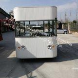 最上質の通りの販売のための移動式コーヒーホットドッグのファースト・フードのカート