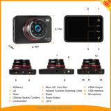 2.7inchソニーImx323センサーの接触の極度の夜間視界車のダッシュのカメラは操作を調整する