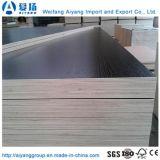 E1 de 9mm frente melamina muebles de madera contrachapada