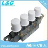 Interruttori di pulsante chiave di posizione del ventilatore 2-5