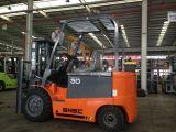 4 колеса грузоподъемник 3.0 тонн электрический с рангоутом 3m