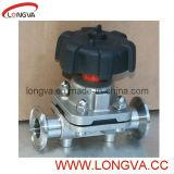 мембранный клапан 3A Apporved санитарный Ss316L различный Triclamp