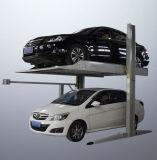 2 do borne Home da garagem dois do nível elevador hidráulico do estacionamento do carro