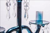 Держатель для свечи плаката сини 3 для украшения венчания