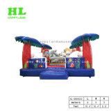 Bunter und Sonnenschein-Seestrand-aufblasbarer springender Prahler für Kinder