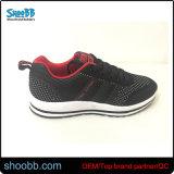 La comodidad de encaje negro Zapatillas zapatos deportivos zapatos atléticos para los hombres Los varones jóvenes