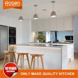 Manípulo de livre de alto brilho branco de design de mobiliário de cozinha