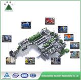 Impianto di cernita dell'immondizia urbana automatica, impianto di cernita di Msw