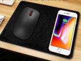 Mouse pad com telefone celular e Qi Carregador Sem Fio