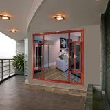Feelingtop Incliner-Tournent la fenêtre d'écran en aluminium de mouche de tissu pour rideaux