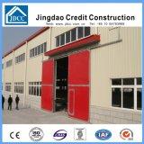 Costruzione industriale della fabbrica della struttura d'acciaio