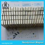 Aimants magnétiques d'encodeurs du néodyme N48 intense avec le nickelage