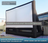 Pantalla de película inflable de la pantalla inflable gigante al aire libre del cine para la venta