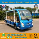 Zhongyi 건전지는 세륨을%s 가진 14의 시트 전기 관광 차를 운영했다