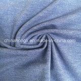 Einzelnes Jersey P/R/Sp 57/35/8, 220GSM, Gemischknit-Gewebe für T-Shirt