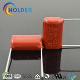 Metalizado Ploypropylene Film Capacitor (CBB22 155/400) com alta estabilidade e propriedades de auto-cura