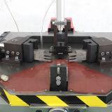 Canto de alumínio única Cabeça hidráulica combinando a máquina
