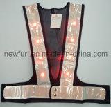 Impermeabilizzare ciao la maglia riflettente infiammante di forza LED