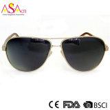 Zonnebril van uitstekende kwaliteit van het Metaal van de Manier de Mensen Gepolariseerde met UV400 (16003)