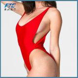 2018 reizvolle niedrige Taille mit einem Band versehener Badeanzug-Frauen-Brasilianer-Bikini