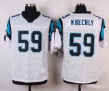 カロライナカムニュートンルークKuechlyのブランクカスタマイズされたアメリカン・フットボールのジャージ