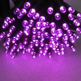RGB Twinkling Efeito intermitente Solar LED Christmas String Lights