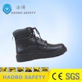 De industriële Schoenen van de Veiligheid van het Leer met Ce- Certificaat