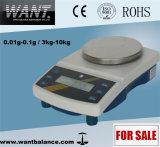 3000G/0,01 g balanza digital multifunción con