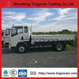 5トンの積載量の白いHOWOの軽トラック