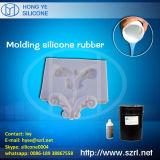 Borracha de silicone do molde para o Cornice do emplastro