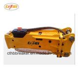 Sb81d'un ciseau diamètre 140mm brise roche hydraulique pour pelle 20tonne