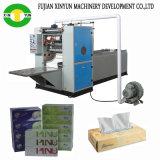 2 riga tessuto del fronte di prezzi bassi della macchina di carta del fazzoletto per il trucco che fa macchina