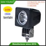 10W Spotlight CREE LED lumière pour travail de nuit la conduite de nuit