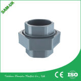 Vinil Gutter & Downspout Fabricante PVC Tubo quadrado Fittings Down Pipe Elbow -90 Deg Diverter