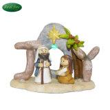 De hete Reeks van de Geboorte van Christus van de Hars van de Decoratie van Kerstmis van de Verkoop Goedkope