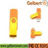 Lecteur flash USB fait sur commande d'émerillon du logo OTG 256GB pour le cadeau
