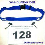 Quatre couleurs exécutant Numéro de course de la courroie élastique
