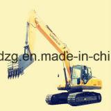 0,9 m3 de la excavadora de la cuchara con motor Isuzu