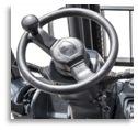3,5T certifiées Ce chariot élévateur à fourche de l'essence