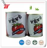 400g Veve Marken-organisches eingemachtes Tomatenkonzentrat