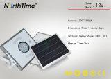 Lumière Integrated de jardin de détecteur de l'intense luminosité PIR avec la batterie au lithium