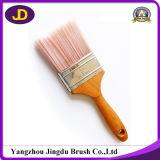 Pennello di legno di colore rosa della maniglia del campione libero