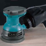 Dustless yeso lijadora eléctrica con sistema de vacío automática